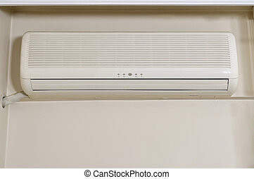Air conditioner indoor unit mounted on home wall