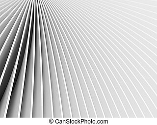 Grey forms - 3d rendered abstract grey forms