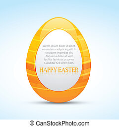 easter eggs - vector easter design with space for your text