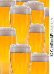 Collage of Beer Glasses