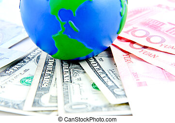Global and cash money ,the world of finance