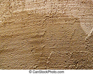 damp concrete - damp patch on a concrete wall