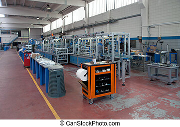 Factory - Building line e machine for automation - In this...