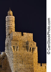 Tower of David - Dating from 2nd Century BCE, the Tower of...