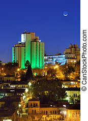 Jerusalem Skyline - Modern Hotel and residential buildings...