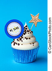 Fathers day cupcake - Cupcake for fathers day