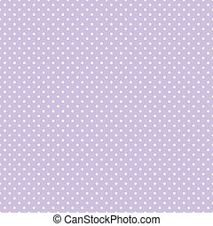 Seamless Polka Dots Pastel Lavender - Seamless pattern,...