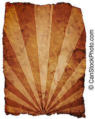 Old paper design