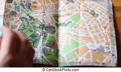 Finding The Colosseo on a map