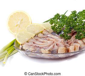kipper with greens