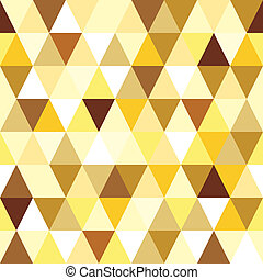 gold seamless triangle abstract pattern