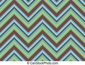 seamless abstract african ethnic ornament.