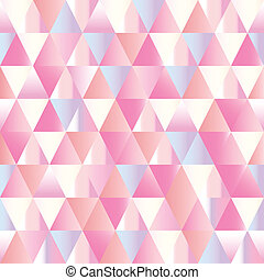 diamonds seamless triangle abstract pattern.