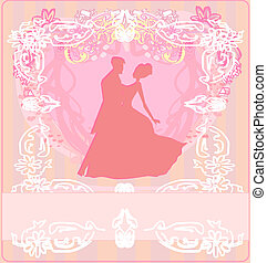 Ballroom dancers - invitation