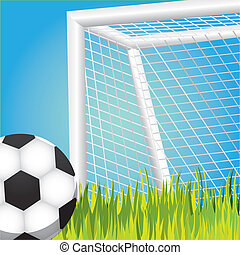 penalty in soccer game - penalty, soccer game vector...
