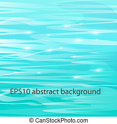 Abstract beautiful sea background. Vector eps10 illustration