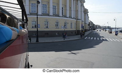 St. Petersburg, Tour Bus - St. Petersburg, Tourist...
