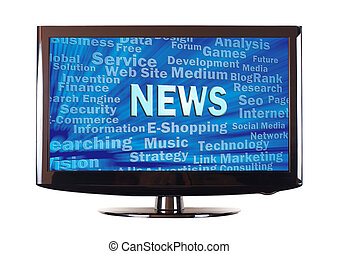 News word and internet related words