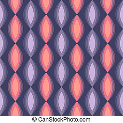 retro seamless triangle abstract pattern
