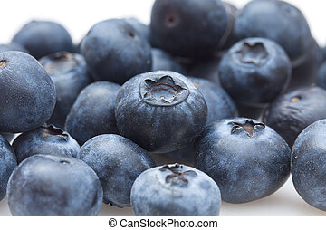 Blueberries background