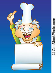 Chef cartoon - Cute cartoon character