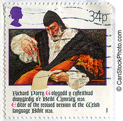 Richard Parry - GREAT BRITAIN - CIRCA 1988: stamp printed by...