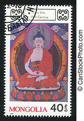 Buddhist Deity Chu Lha