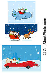 Santa Claus Characters - Santa Claus Is Coming To Town...
