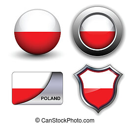 Poland icons - Poland flag icons theme