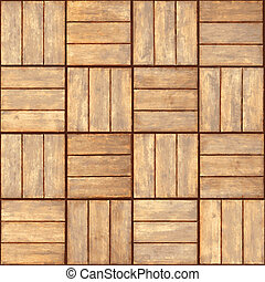 Parquet - realistic vector seamless texture