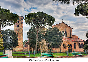 Basilica of Sant Apollinare in Classe - antique italian...