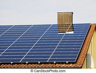 Green Energy With Photovoltaic