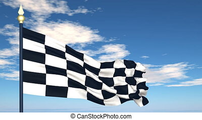 The finish flag