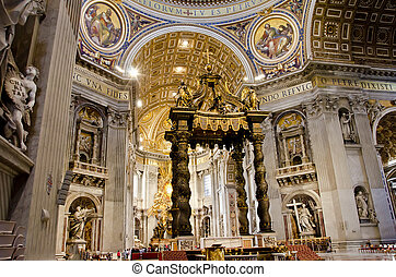 St. Peter Cathedral in Vatican