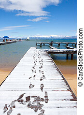 Lake Tahoe Vacation - Views of Lake Tahoe in California with...