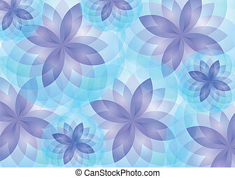Background abstract lotus flowers