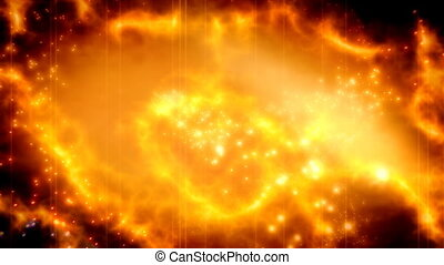 Burning Particle Abstract Strobe Looping Animated Background...