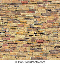 Brick seamless pattern.