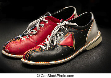 Stock Image of Bowling shoes on the lane csp2564566 - Search Stock ...