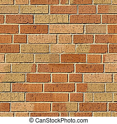 Brick seamless pattern
