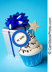 Father's day cupcake - Cupcake for father's day