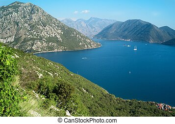 Kotor bay - Beautiful view on Kotor bay