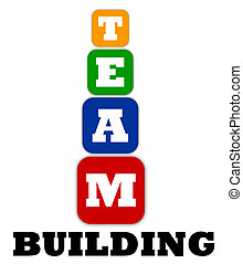 Teambuilding logo on white background