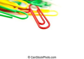 Colorful wire isolated.