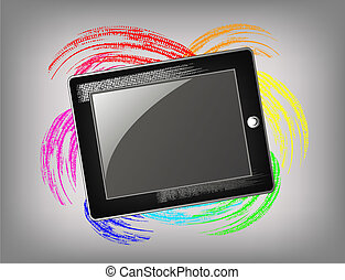 The grunge tablet