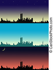 New York - Illustration with New York