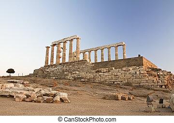 capa,  Sounion, grecia