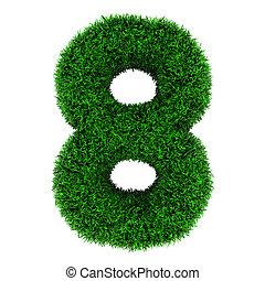 Grass number 8