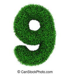 Grass number 9