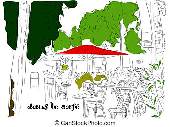 Cafe on the Champs-Elysees 3 - Cafe on the Champs-Elysees....